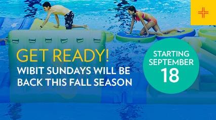 Wibit Sundays will be back on September 18
