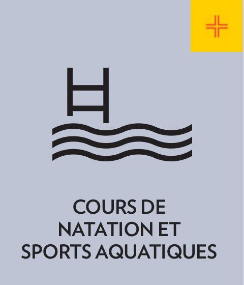 Cours de natation et sports aquatiques