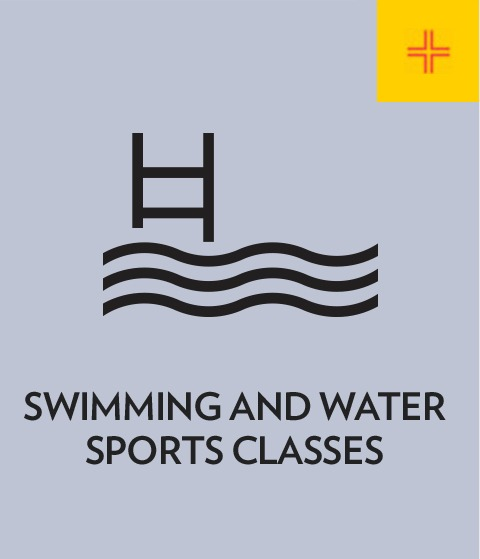 Swimming and water sports classes