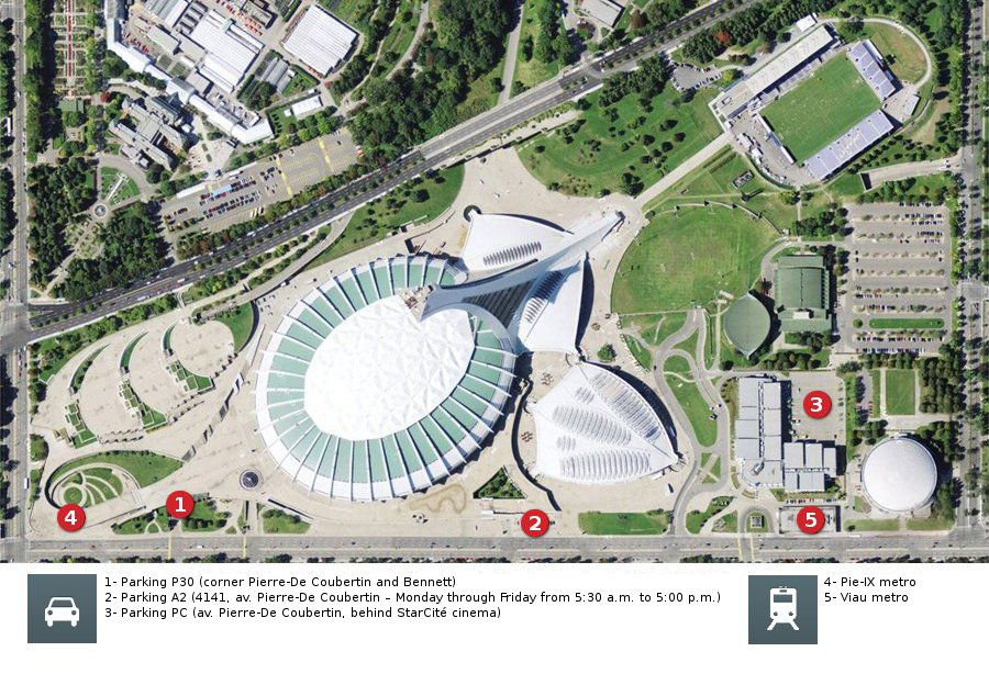 Events continue at Olympic Park | Parc olympique de Montr�al