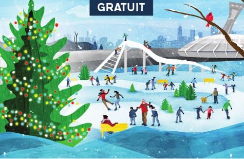 Parc Olympique village d'hiver