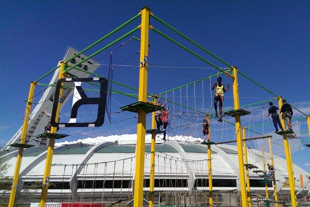 El Parque Urbano-acrobático de Montreal abre ofici...