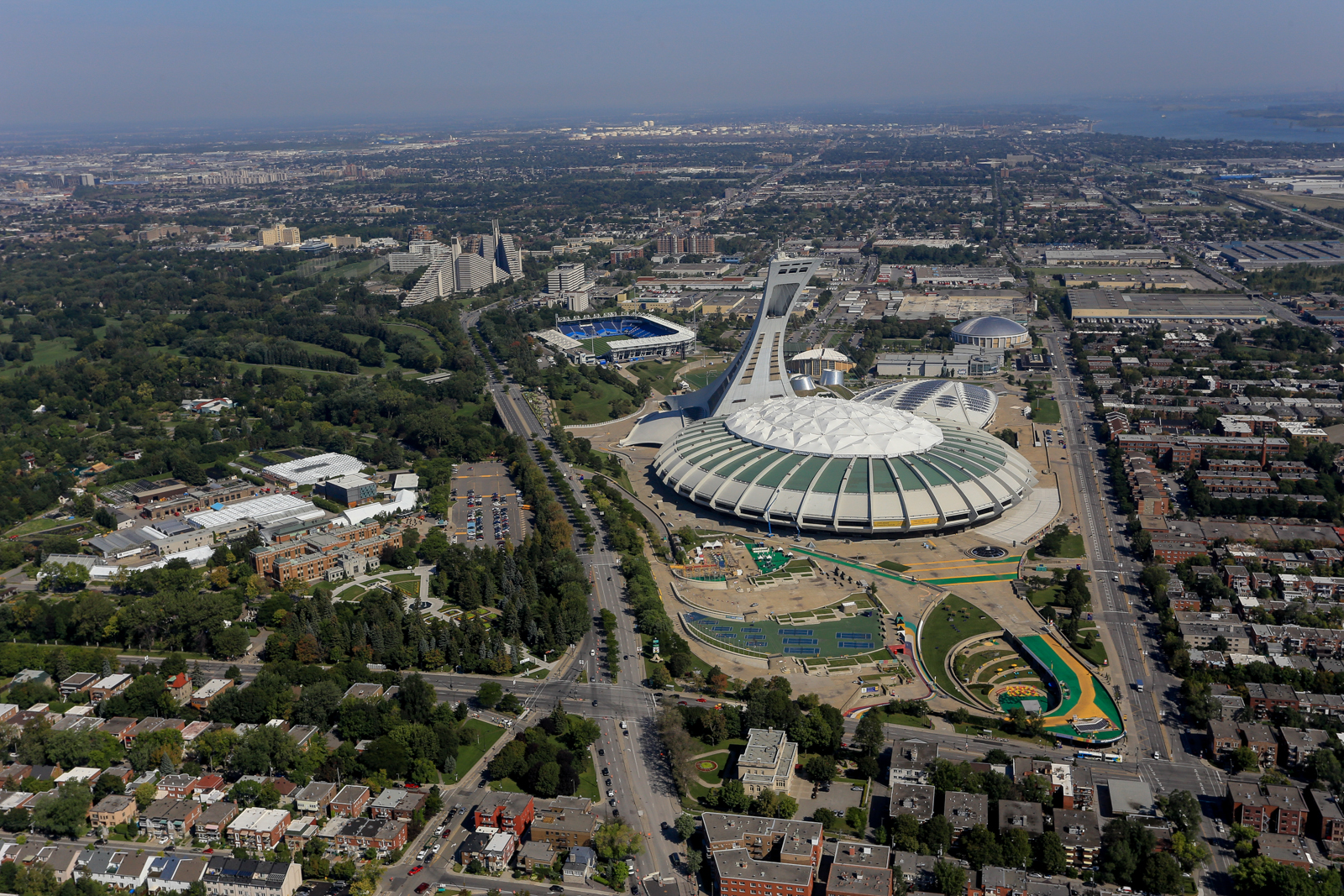 Parcolympiquemtl parc olympique de montr al - Piscine du stade olympique ...