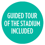 Guided tour of the Stadium included